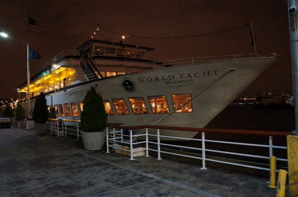 world yacht duchess NY dinner