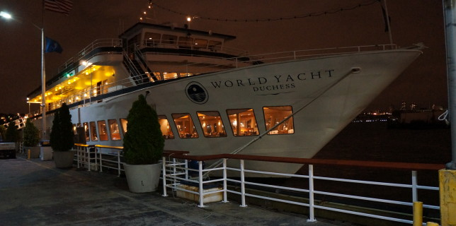 world yacht duchess NY dinner